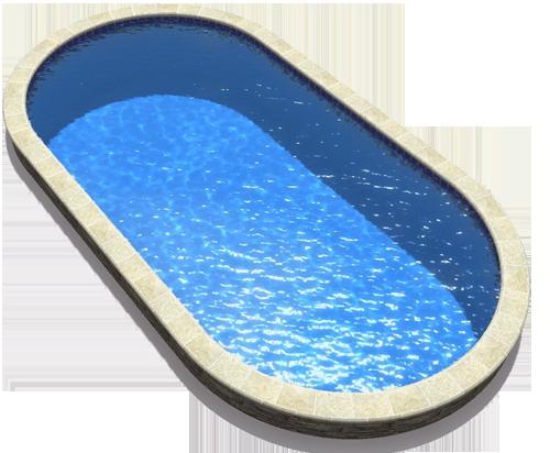 piscina ovalis hydroline
