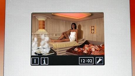 Comenzile saunei