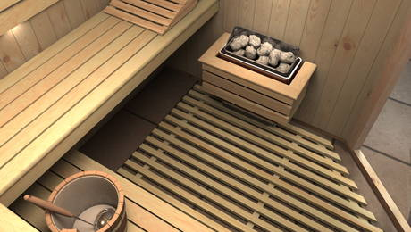 Incalzirea saunei