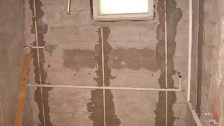 Pregatirea locului amplasarii saunei