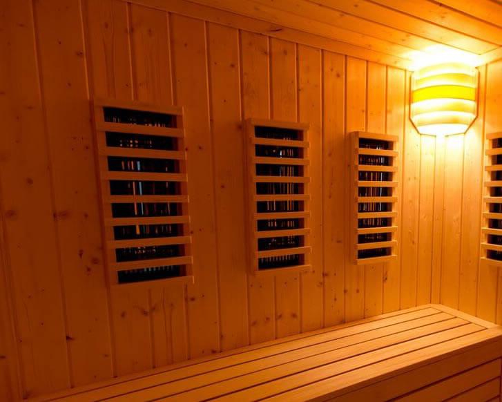 Saune infrarosu